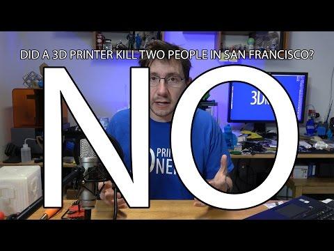 Did a 3D Printer Kill a Berkeley Couple by Emitting Carbon Monoxide? No.