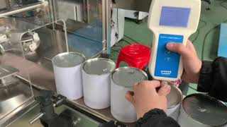 자동 진공 질소 꿰매는 기계, 질소 깡통 봉인 자, 씰…
