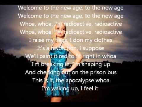 Madilyn Bailey - Radioactive lyrics - YouTube