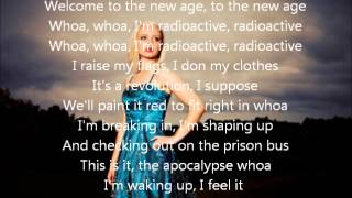 Madilyn Bailey - Radioactive lyrics