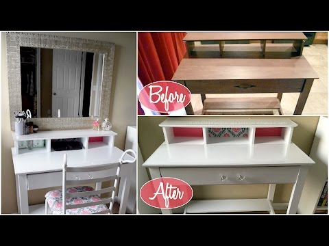 How To Make A Vanity for Cheap! Easy Project | Aseamae Natural