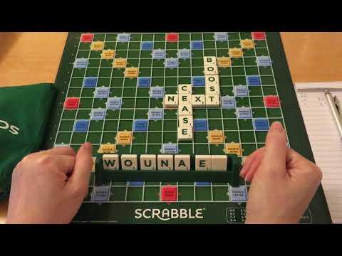 Playing Scrabble ~ ASMR Soft Spoken / Whispers