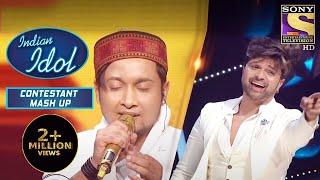 Pawandeep ने कुछ ऐसे कर दिया Himesh को अपनी गायकी का दीवाना   Indian Idol   Contestant Mash Up
