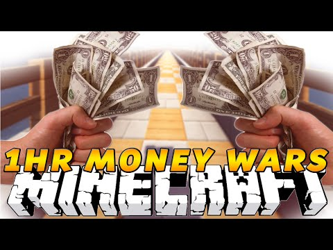 Minecraft MONEY WARS! EPIC 1HR Episode! w/Kenny,Preston & Pete!