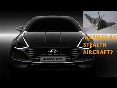 2020 Hyundai Sonata Inspired By A Stealth Aircraft