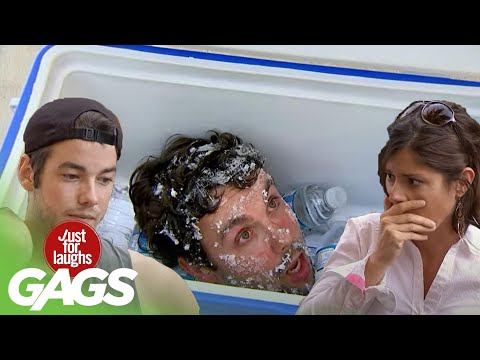 Broken Phone, Ice in the Freezer Prank and More!   Just for Laughs Compilation