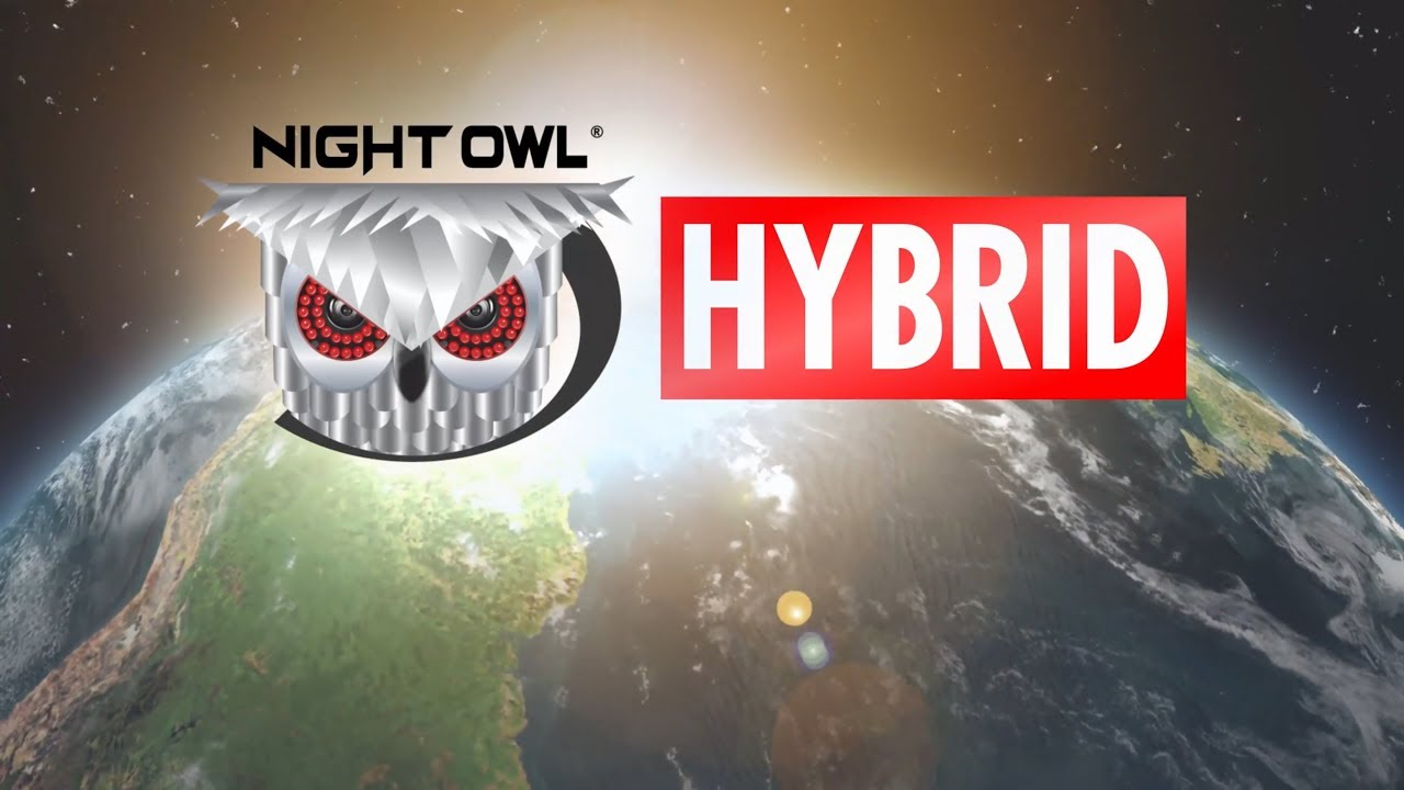 Night Owl 6 Channel 4k W2 Fusion Hybrid Security System