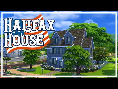 Halifax House - The Sims 4 Speed Build