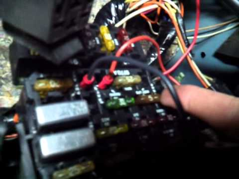 1991 Camaro Gauge Cluster Lights Not Working Youtube
