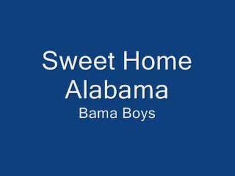 Sweet Home Alabama Bama Boys