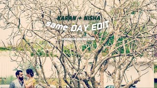 DESTINATION WEDDING IN GOA | KARAN+NISHA | SAME DAY EDIT | TRACTION FILMS & TEAM