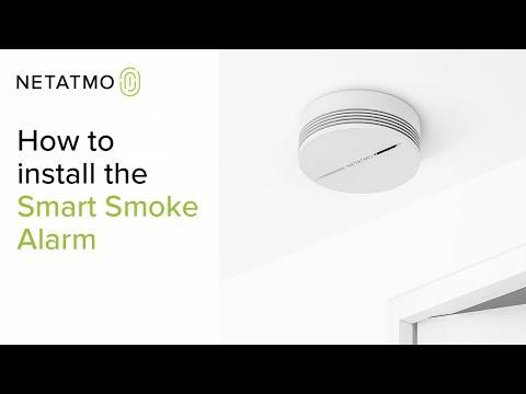 How to install the Netatmo Smart Smoke Alarm