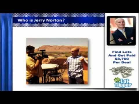 Jerry Norton's Lot Flipper Webinar