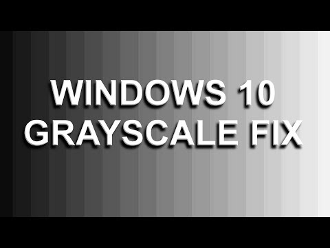 How To Fix Monitor Gray