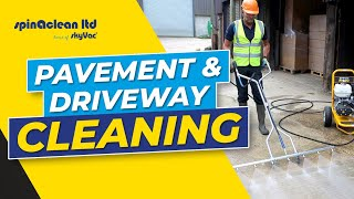 the spinaclean tidal wave paving cleaning jet for pressure washers