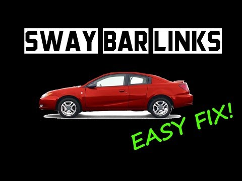 How to Replace Saturn Ion Sway Bar Links