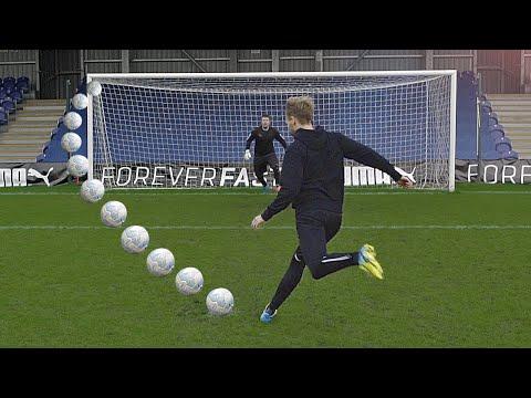 Fabregas vs freekickerz - Weak Foot Penalty Challenge