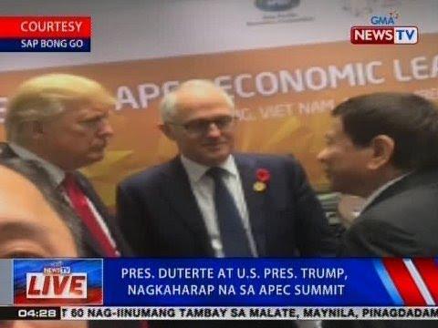 NTVL: Pres. Duterte at US Pres. Trump, nagkaharap na sa APEC Summit