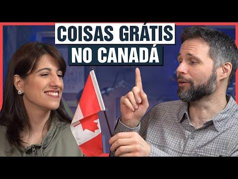 Coisas DE GRAÇA que o governo do Canadá dá para você