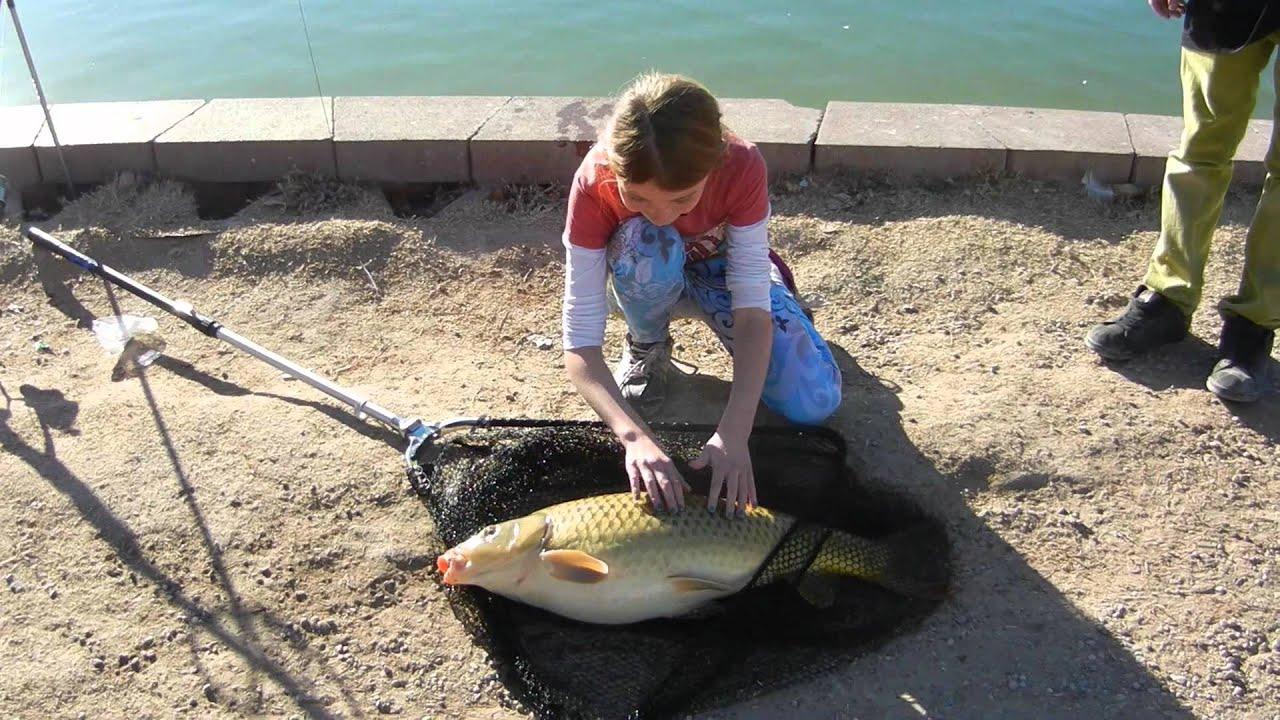 Alexis Carp Fishing In Las Vegas Youtube