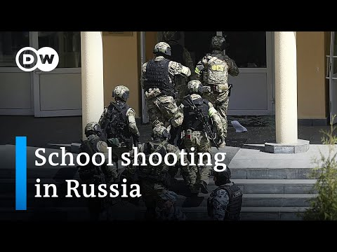 At least 8 people killed in school shooting in Russia | DW News