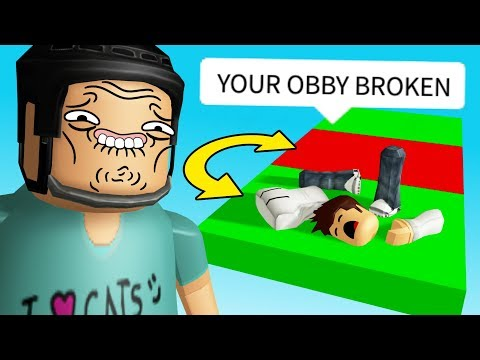 I made a TROLL OBBY for my fans.. (they're not fans anymore)