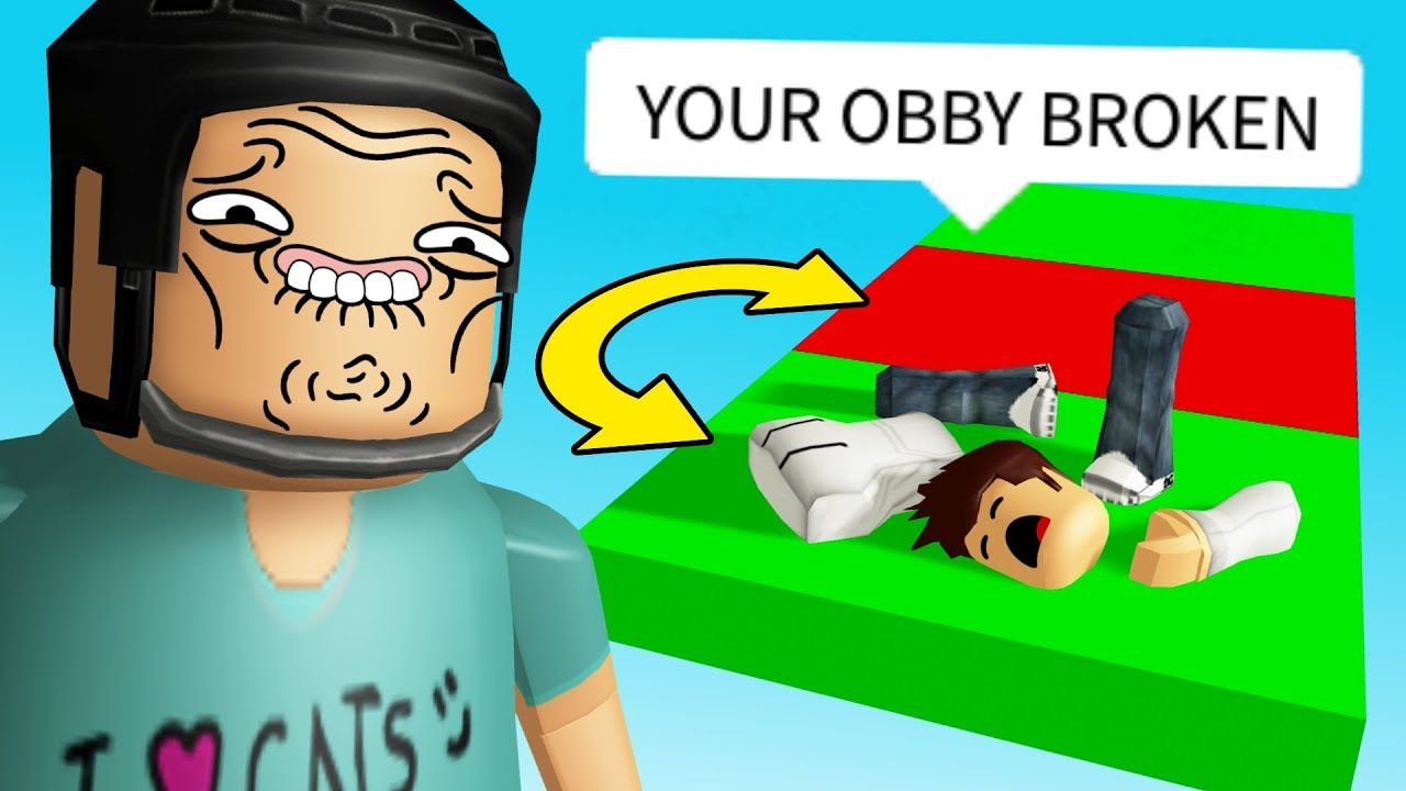I Made A Troll Obby For My Fans They Re Not Fans Anymore Youtube