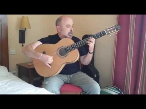 Rafael Rodriguez Guitarra de Cipres y Cedro