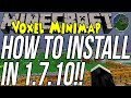 How To Install Zan's Minimap/Voxel Minimap In Minecraft 1.7.10