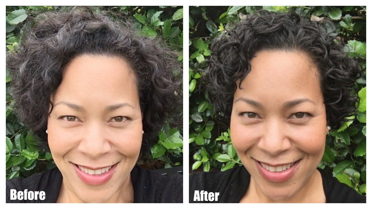 My First Devacut Haircut For Curly Hair By Devacurl