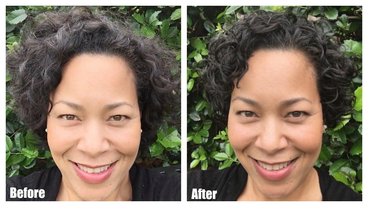My First Devacut Haircut For Curly Hair By Devacurl