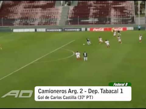 Camioneros Argentinos del Norte 2 vs Deportivo Tabacal 1 Federal B