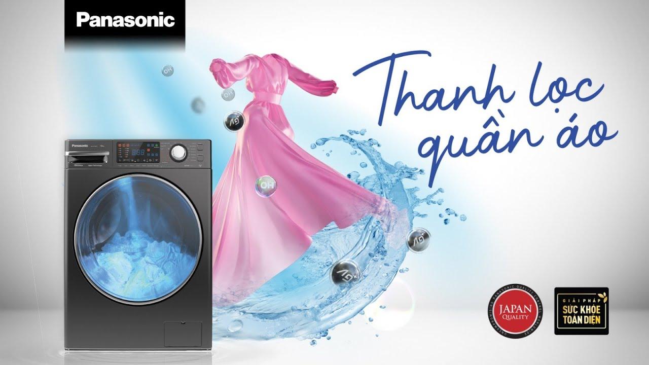Thanh Lọc Quần Áo – Xu hướng chăm sóc sức khỏe trên máy giặt Panasonic thế hệ mới đến từ tương lai!