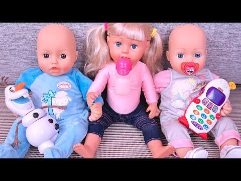 Я ТОЖЕ ХОЧУ БЫТЬ МАЛЕНЬКОЙ! Мультики Как Мама Играла Куклы Беби Бон Пупсики 108мама тв