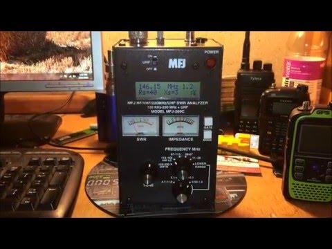 MFJ-269c antenna analyzer