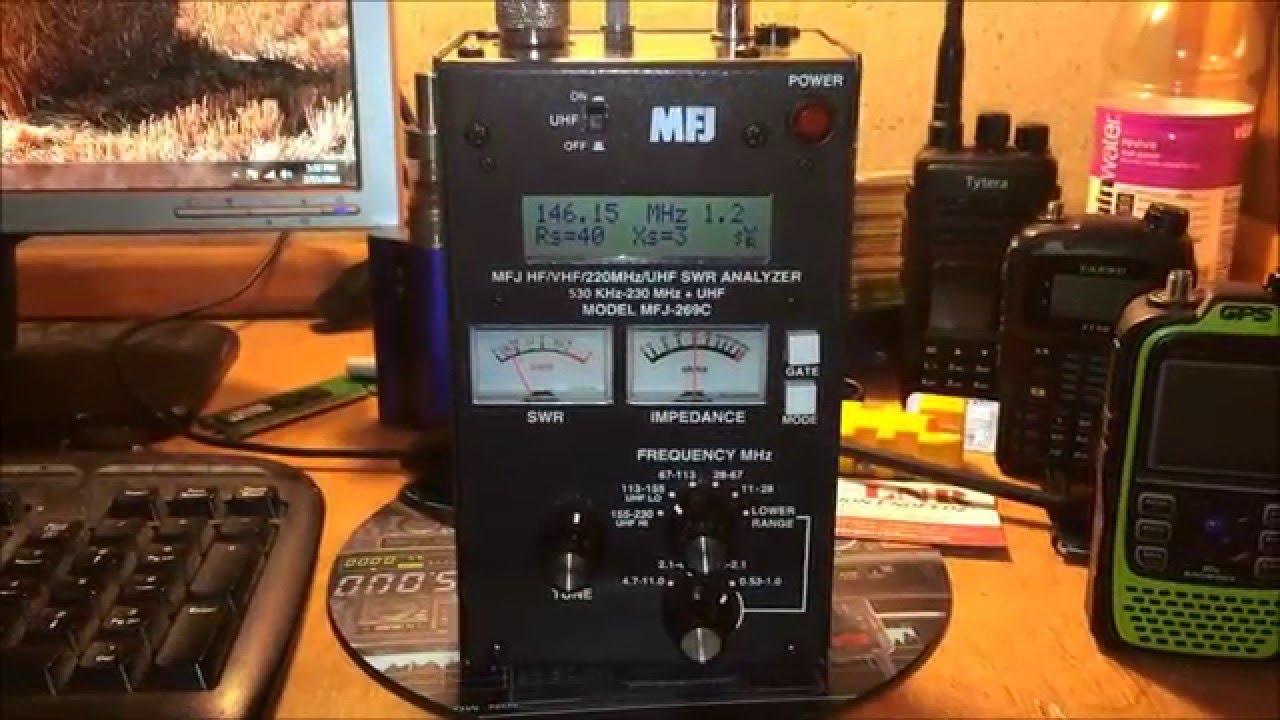 Mfj 269c Antennayzer