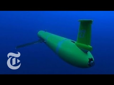 Underwater Drones Gather Data at Sea