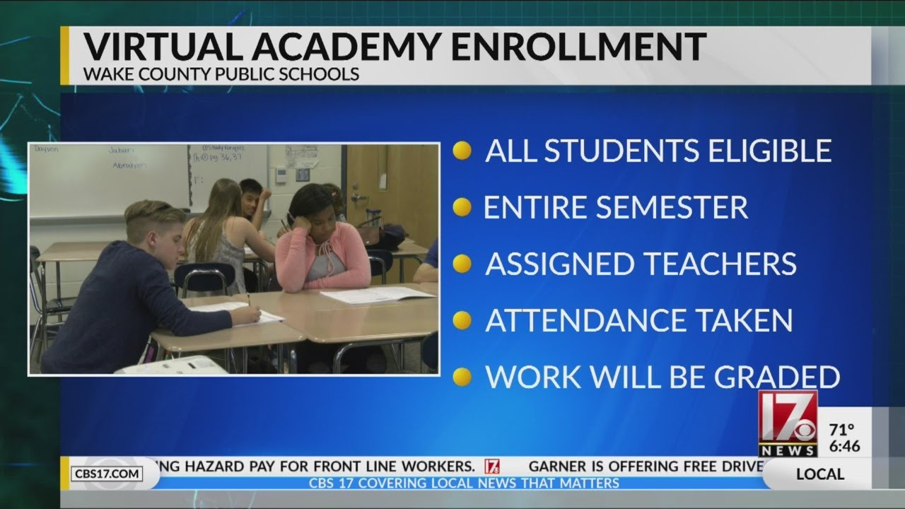 WCPSS Virtual Academy enrollment starts Friday
