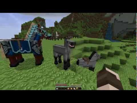 Minecraft Horses - How to Feed and Care for Your Horse! [UPDATED] [1.7.10]
