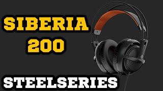 Обзор наушников SteelSeries Siberia 200