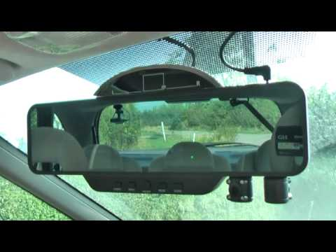 CAR REAR VIEW MIRROR DUAL CAMERA REVIEW