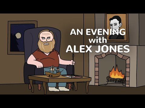 An Evening With Alex Jones - Cartoon