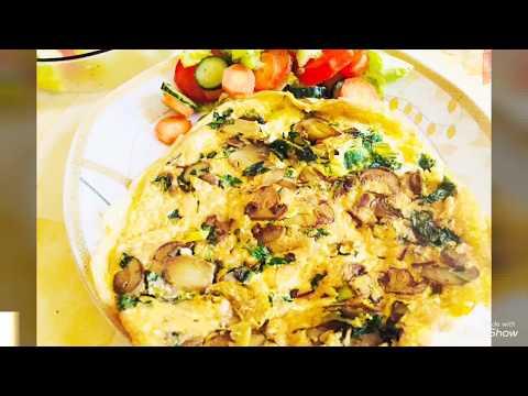 omelettes-aux-champignons