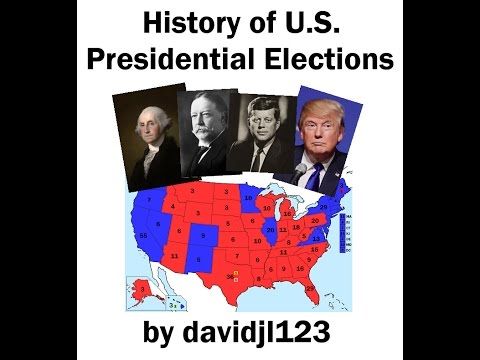 History of U.S. Presidential Elections - Each Year