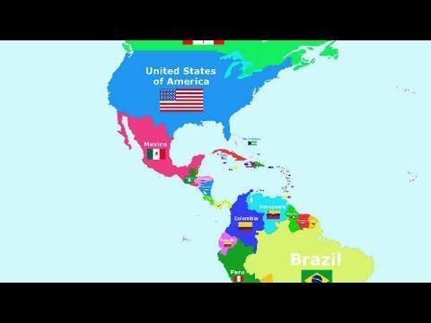 Cantecele - Tarile lumii: America de Nord si America de Sud