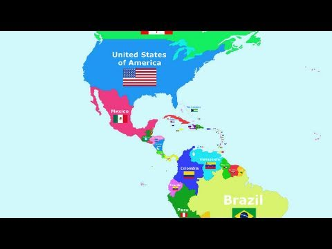 The Countries of the World Song - The Americas - YouTube