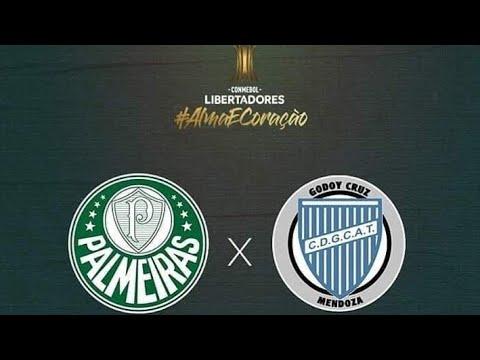 Resultado de imagem para Palmeiras x Godoy Cruz