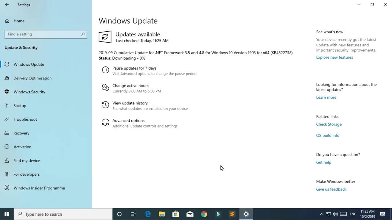 KB4522738 Windows 10 Update Windows 10 version 1903 and Windows Server 1903  RTM - Jagadish Sharma