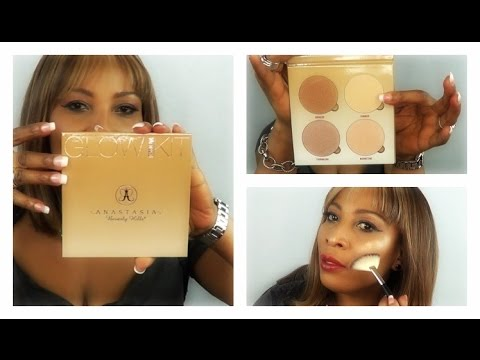 FIRST LOOK: NEW!!!  Anastasia Beverly Hills SUN DIPPED GLOW KIT | Khichi Beauty