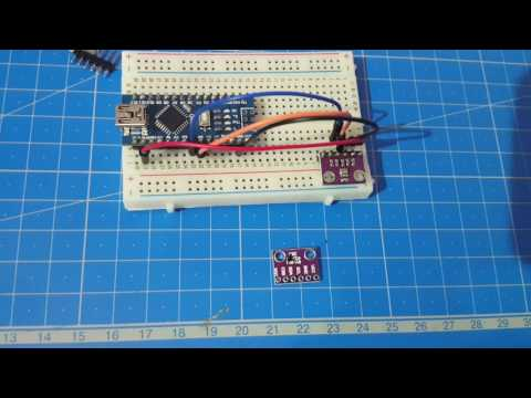 BMP280 Temperature And Pressure Sensor On An Arduino